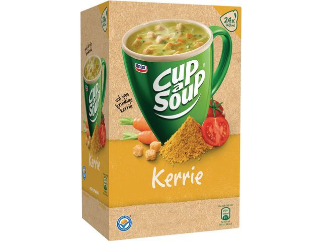 Unox Soep Cup-a-soup Unox kerrie /ds24
