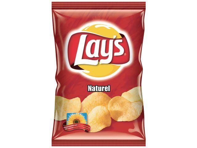 Lay's Chips Lay's naturel/doos 8x175gram