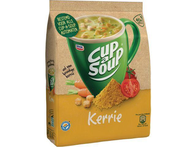 Unox Soep Cup-a-soup kerrie 40port/pk 492g