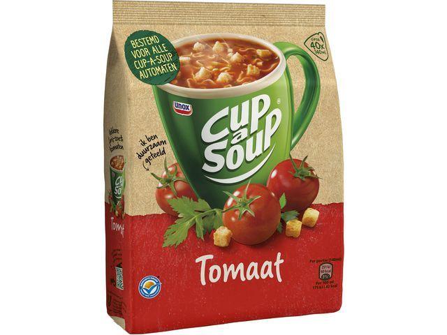 Unox Soep Cup-a-soup tomaat 40port/pk 640g