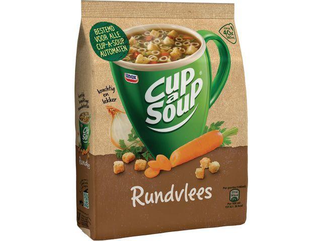 Unox Soep Cup-a-soup rundvlees 40port/pk 520g
