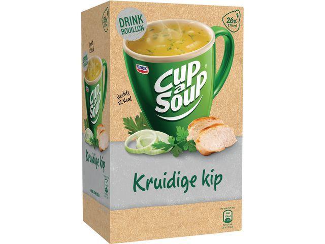 Unox Soep Cup-a-soup bouil Kruidige kip/ds 26
