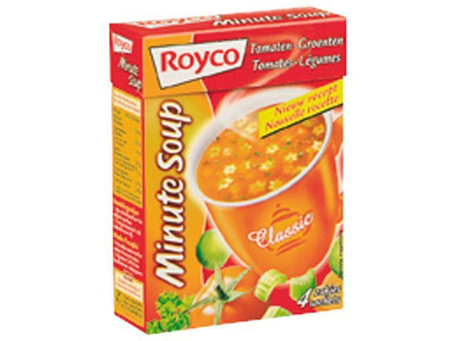 Royco Minute soup Royco Tomaatgroente 200ml/25