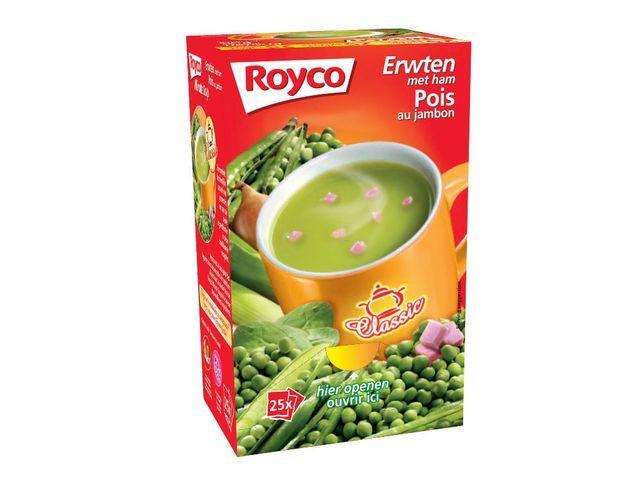 Royco Minute soup Royco Erwt Ham 200ml/25