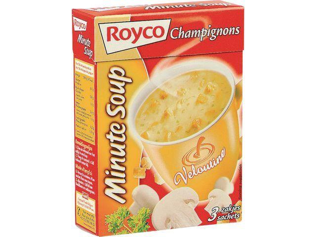 Royco Minute soup Royco Vel champion 200ml/20