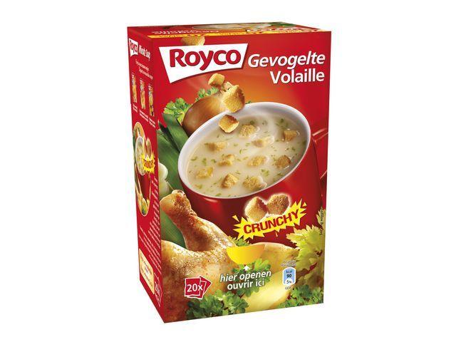 Royco Minute soup Royco Vel.gevogelte 200ml/20