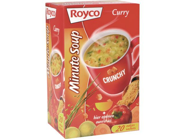 Royco Royco Minute soepen Kerriesoep (doos 20 stuks)