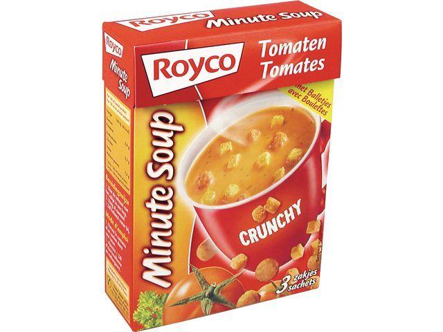 Royco Minute soup Royco Tomaat+bal 200ml/20