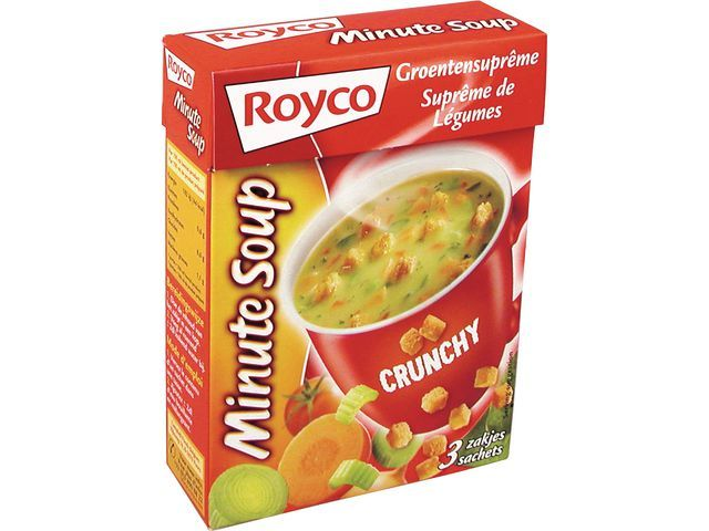 Royco Minute soup Royco Groente croût 200ml/20