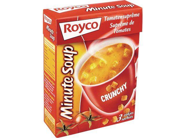 Royco Minute soup Royco Tomaat +croût 200ml/20
