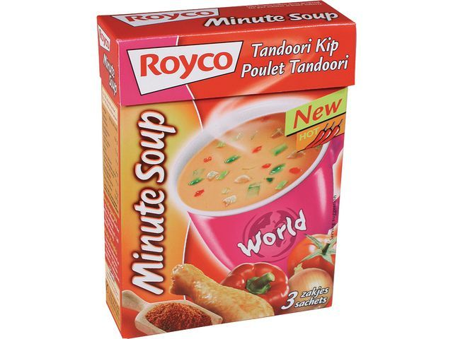 Royco Minute soup Royco Tandoori kip 200ml/20