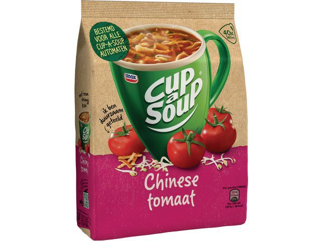 Unox Soep Cup-a-soup chines tom 40port/pk636g