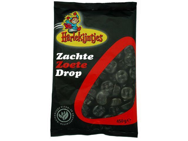 HARLEKIJNTJES Drop Harlekijntjes zoet /pak 450g