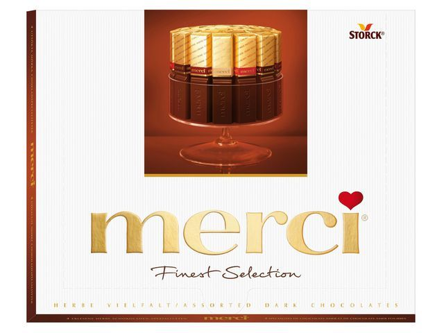 merci Chocolade Merci Finest Selection 250gram
