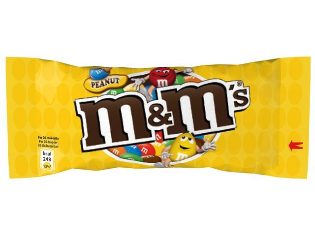 M&M'S Chocoladesnack M&M 45g pinda/pak 24