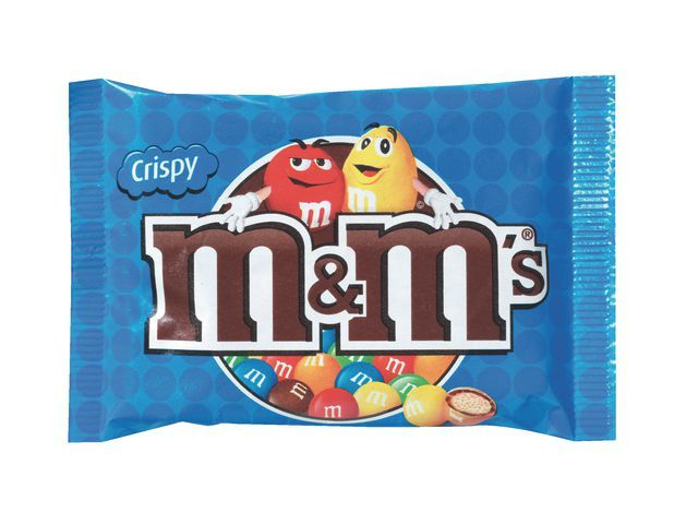 M&M'S Chocoladesnack M&M 36g crispy/pak 24