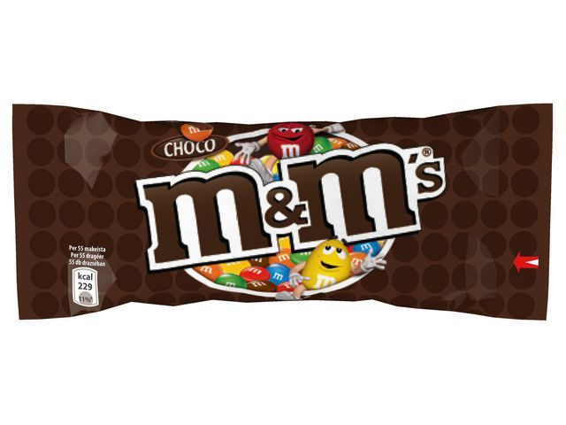 M&M'S Chocoladesnack M&M 45g choco/pak 24