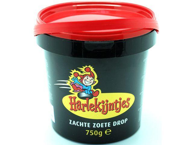 HARLEKIJNTJES Snoepemmer Harlekijntjes zoet/emmer750gr