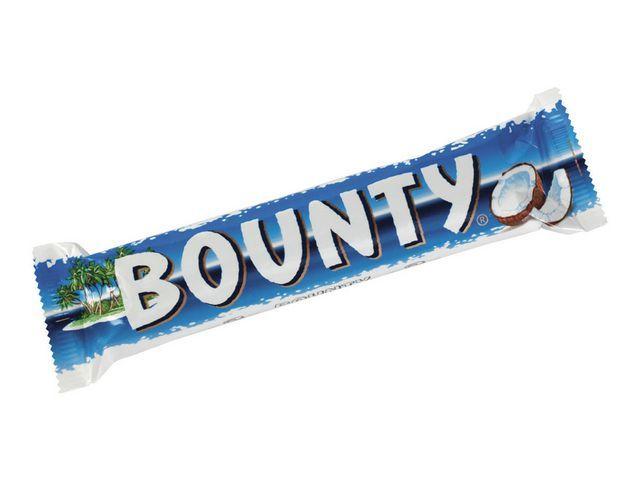 Bounty Chocoladereep Bounty melk/pak 24
