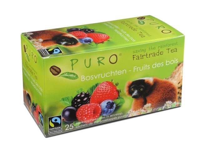 PURO Thee Puro fairtrade bosvruchten/bx 6x25