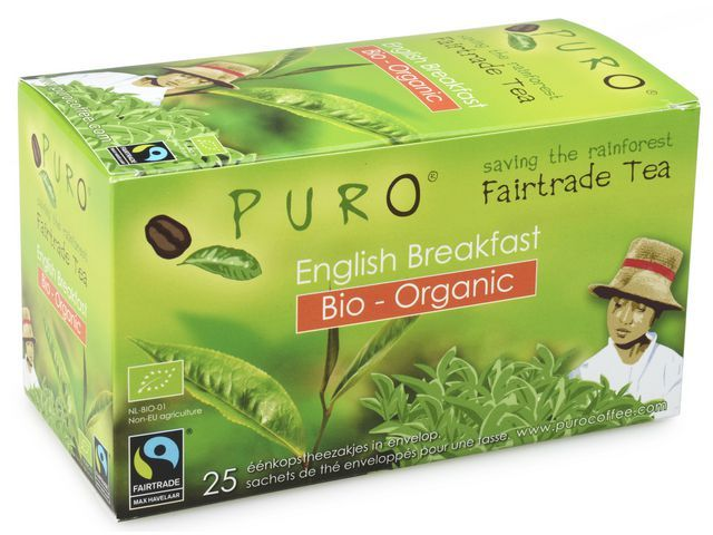 PURO Thee Puro fairtrade engl breakf/bx 6x25