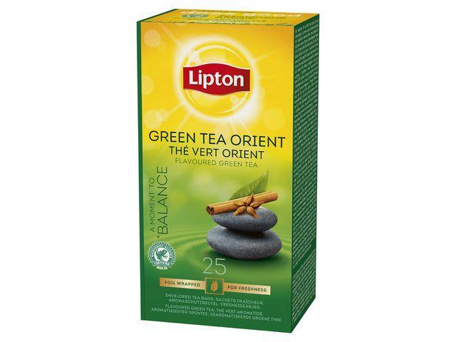 Lipton Theezakje Lipton groene th orient/ds6x25