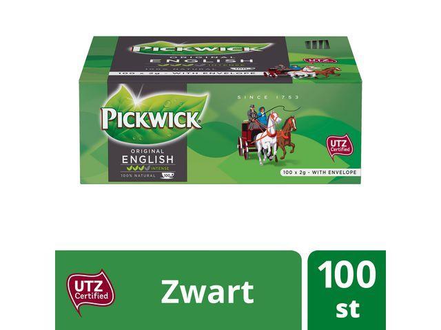 Pickwick Thee Pickwick Engelse melange/pak 100
