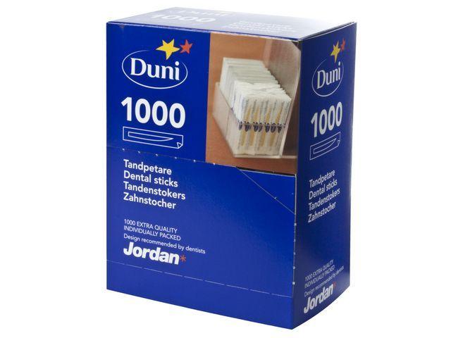 Duni Tandenstokers Duni/Jordan mono pk/1000