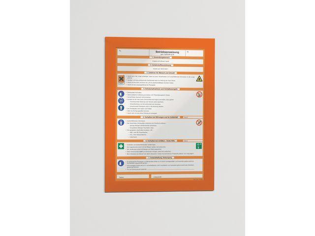 Durable Duraframe Durable A4 oranje/pk 2