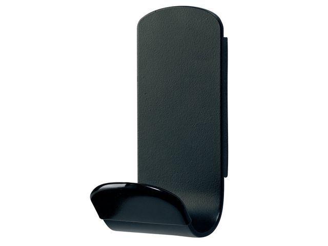Unilux Kledinghaak Unilux Steely magn. zwart