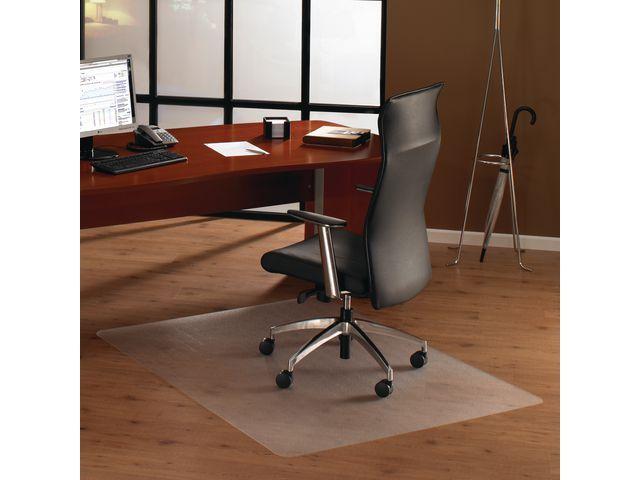 Floortex Cleartex® Stoelmat cleartex harde vloer 120x150cm