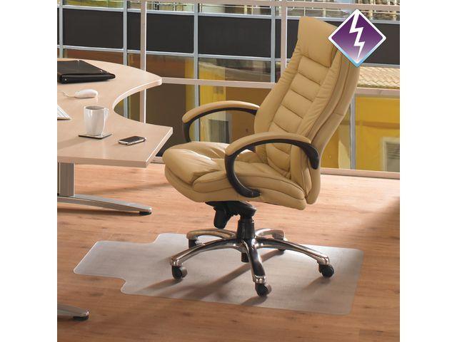 FLOORTEX COMPUTEX® Stoelmat Floortex met lip 120x90cm