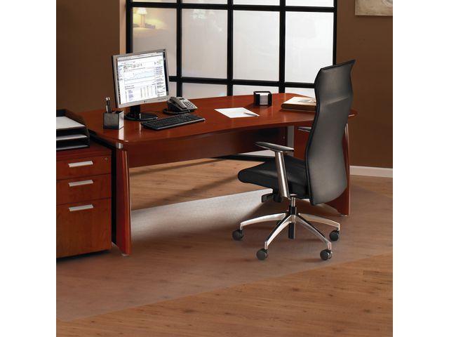 Floortex Cleartex® Stoelmat Floortex tapijt 120x150cm pvc
