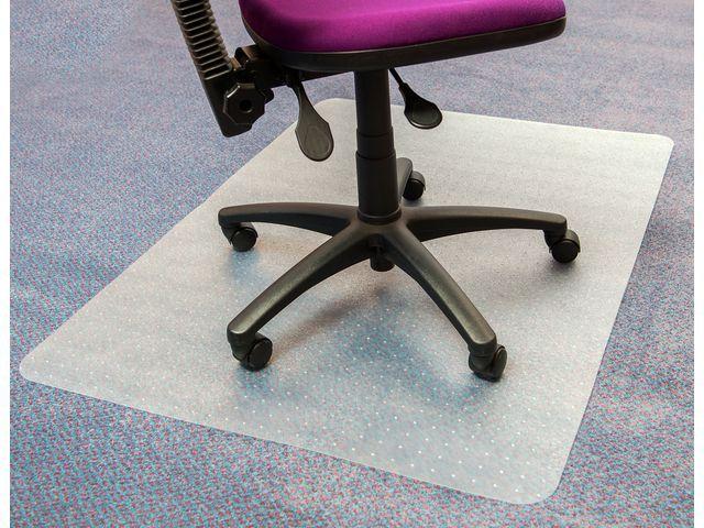 Staples Stoelmat SPLS tapijt 120x90cm pvc