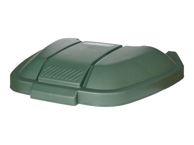 Rubbermaid Commercial Products Deksel tbv mobiele container groen