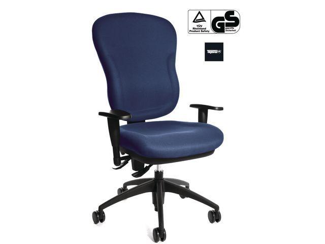TOPSTAR Bureaustoel Wellpoint blauw
