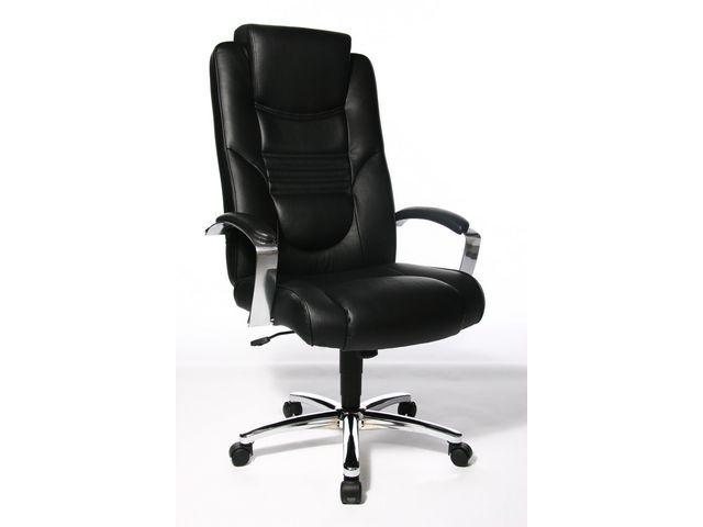 TOPSTAR Managerstoel Shine zwart
