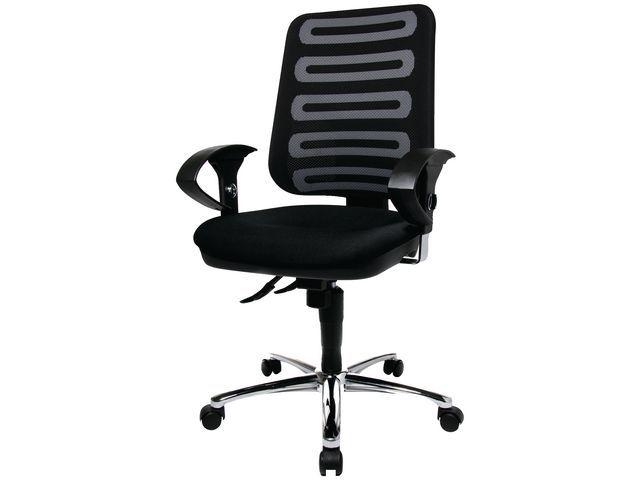 Staples Bureaustoel SPLS Circuit zwart