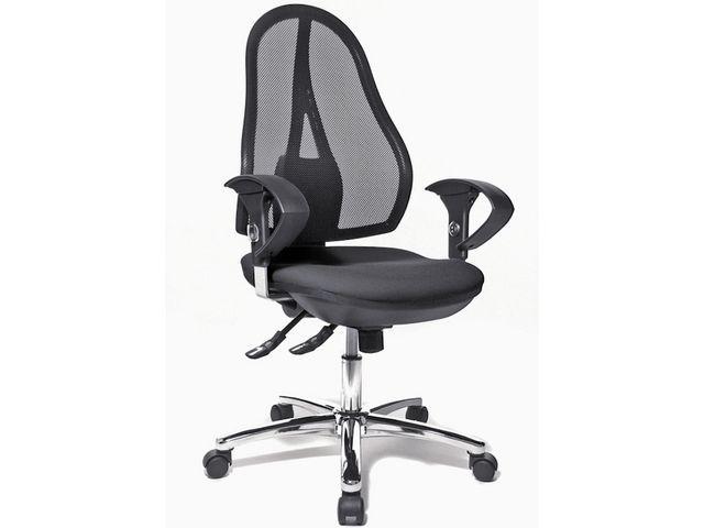 TOPSTAR Bureaustoel Open Point Syncro zwart