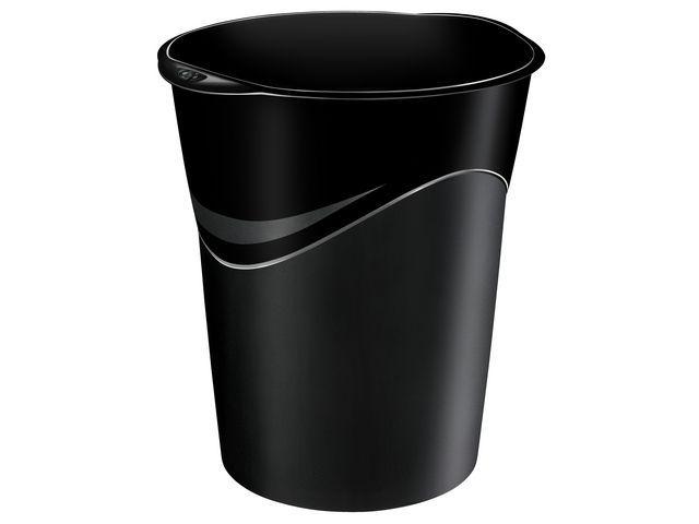 Cep Prullenbak CEP kunststof rond 14l zwart