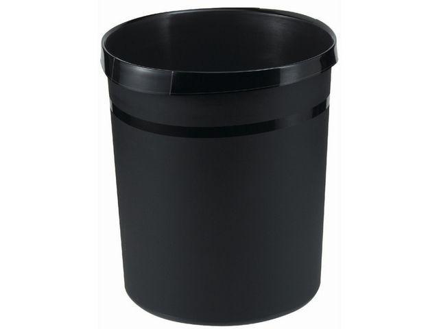 Han Prullenbak Han kunststof rond 18l zwart