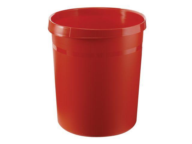 Han Prullenbak Han kunststof rond 18l rood