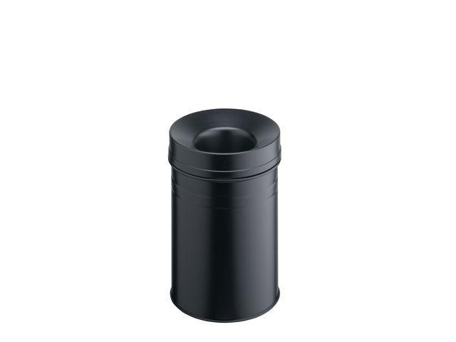 Durable Prullenbak vlamdovend 15l zwart