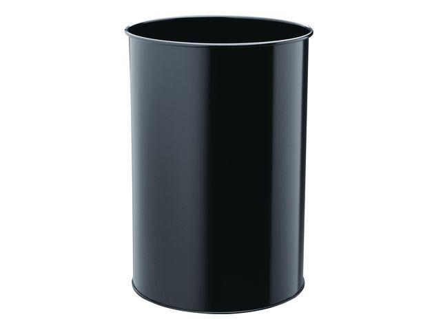 Durable Prullenbak 30l zwart