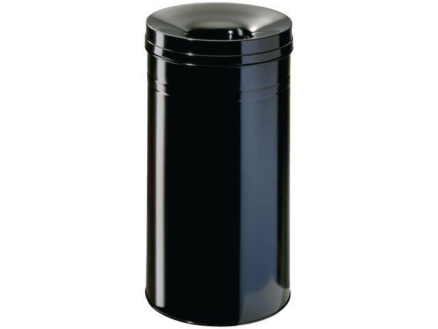 Durable Prullenbak vlamdovend 62l zwart
