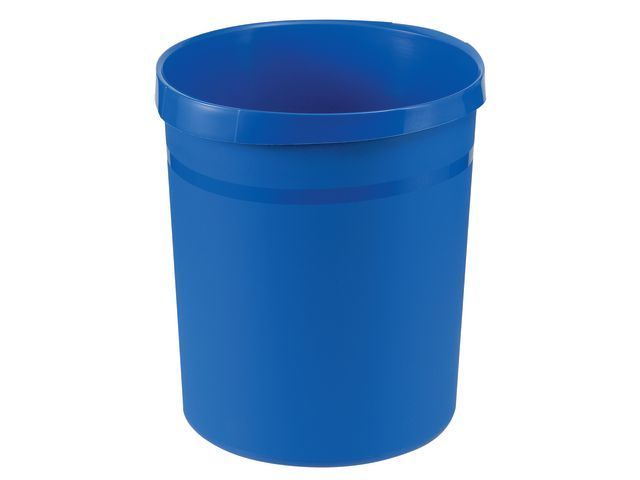 Han Prullenbak Han kunststof rond 18l blauw