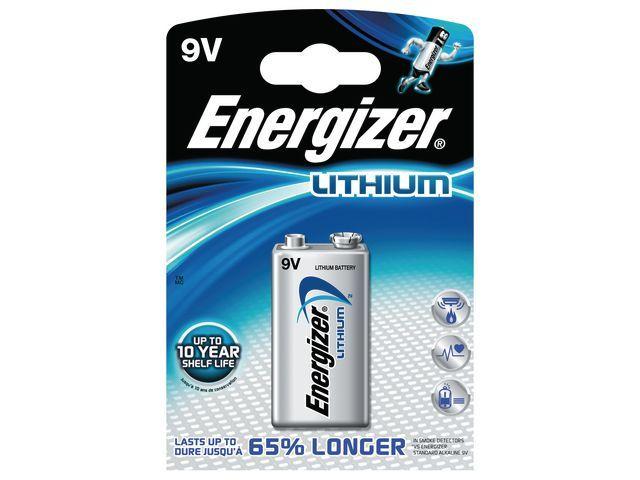 Energizer Batterij Energizer Ultimate Lithium 9V