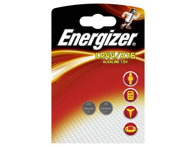Energizer Energizer Batterij knoopcel LR44/A76 (pak 2 stuks)