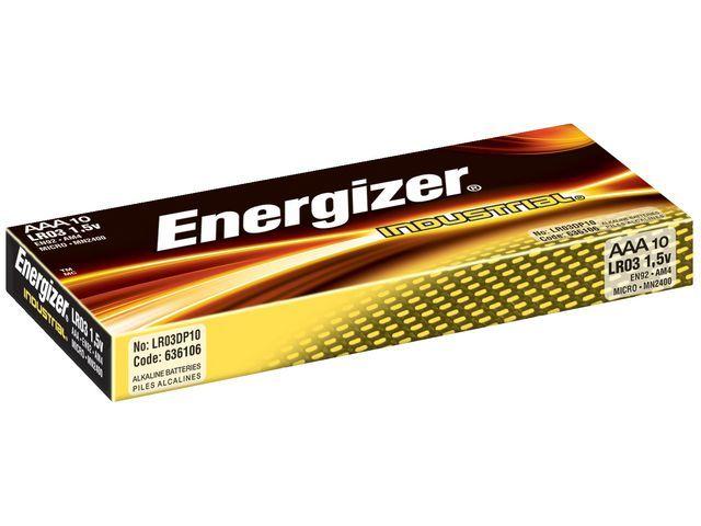 Energizer Batterij Energizer Industrial AAA/Ds 10