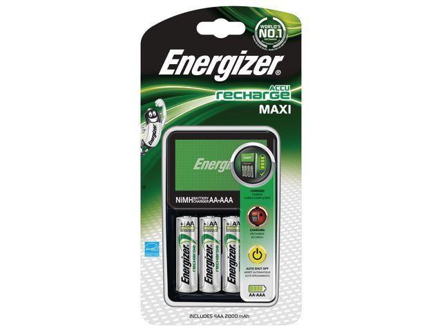Energizer Batterijlader Energizer Maxi + 4xAA